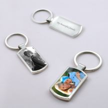 Photo Keyring - Dogtag